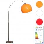 Trio LED Bogenlampe RL167, Stehleuchte Standleuchte Bogenleuchte, 195cm EEK A+ 5W