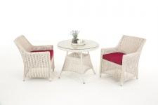 Garten-Garnitur CP061 Sitzgruppe Lounge-Garnitur Poly-Rattan