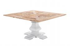 Luxus Esstisch CP582, Esszimmertisch Tisch, Handarbeit, recyceltes Ulmenholz