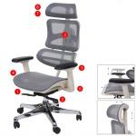 Bürostuhl HWC-A66, Schreibtischstuhl, Sliding-Funktion Textil ISO9001