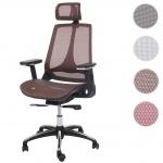 Bürostuhl HWC-A59, Schreibtischstuhl, Sliding-Funktion Stoff/Textil ISO9001