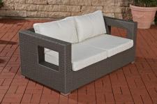 2er Sofa CP051, 2-Sitzer, Poly-Rattan