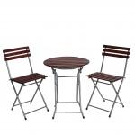 Biergarten-Garnitur Garmisch, Garten-Set Tisch+Stühle