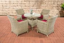 Poly-Rattan Sitzgruppe CP402, Gartengarnitur Lounge-Set