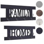 2er Wandgarderoben Set HWC-C60 Home+Family Garderobenpaneel, Shabby-Look Vintage