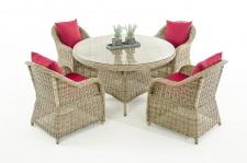 Garten-Garnitur CP070, Sitzgruppe Lounge-Garnitur Poly-Rattan