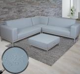 Ecksofa HWC-C47, Sofa Loungesofa Couch, Textil Indoor wasserabweisend