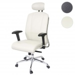 Bürostuhl HWC-A56, Schreibtischstuhl, Sliding-Funktion Kunstleder ISO9001