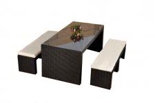 Sitzgruppe, Sitzgarnitur, Gartengarnitur, Gartenbar Aarau, Polyrattan