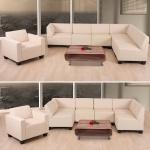 Sofa-System Couch-Garnitur Lyon 6-1, Kunstleder
