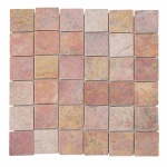 Steinfliesen Vigo T690, Marmor Naturstein-Fliese Quadrate, 11 Stück je 30x30cm = 1qm