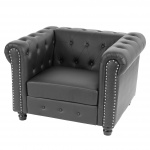Luxus Loungesessel Chesterfield