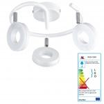 Reality|Trio LED Deckenleuchte RL153, Deckenlampe, incl. LEDs EEK A+