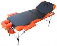 Massageliege LD01, Therapieliege Massagetisch Kosmetikliege, 195x71cm
