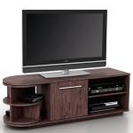 TV Lowboard Arau, TV-Rack Fernsehtisch mit Drehelement, 120x45x40cm