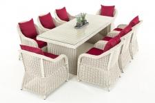 Garten-Garnitur CP071 XL, Sitzgruppe Lounge-Garnitur Poly-Rattan