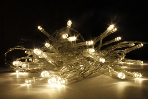 10x 20er LED Lichterkette LD06, Leuchtkette, batteriebetrieben, für Innen