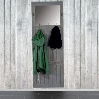 Garderobe Wandgarderobe 180x65x7cm, Shabby-Look, Vintage