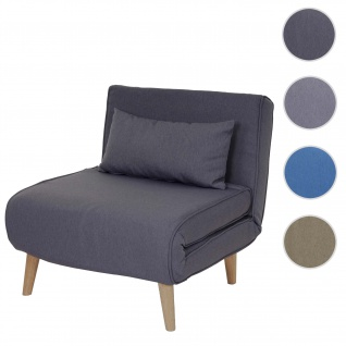 Schlafsessel HWC-D35, Schlafsofa Funktionssessel Klappsessel Relaxsessel Jugendsessel Sessel, Stoff/Textil