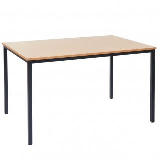 Schreibtisch Braila, Konferenztisch Bürotisch Seminartisch, 120x80cm