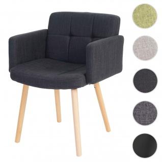 Esszimmerstuhl Orlando II, Stuhl Küchenstuhl, Retro-Design