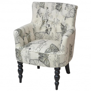 Polstersessel H143, Sessel Loungesessel Clubsessel, Textil, 85x66x66cm