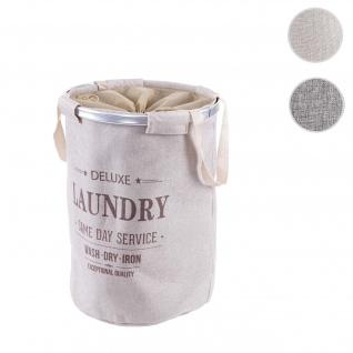 Wäschesammler HWC-C34, Laundry Wäschekorb Wäschebox Wäschesack Wäschebehälter mit Kordelzug, Henkel 55x39cm 65l
