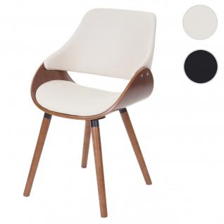 Esszimmerstuhl HWC-D23, Küchenstuhl Stuhl, Retro-Design