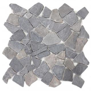 Steinfliesen Vigo T687, Marmor Naturstein-Fliese Mosaik, 11 Stück je 30x30cm = 1qm