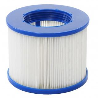 Wasserfilter für Whirlpool HWC-E32, Ersatzfilter Filterkartusche Filterpatrone Lamellenfilter, Zubehör