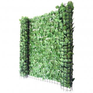 Balkonsichtschutz Buchenhecke, Windschutz Verkleidung für Terrasse Zaun