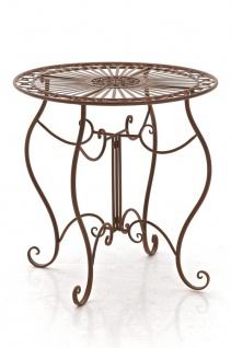 Gartentisch CP309, Metalltisch