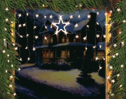 LED Lichterkette Vorhang