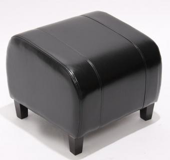 Hocker Sitzwürfel Sitzhocker Emmen, LEDER