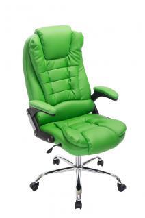 Bürostuhl CP611, Schreibtischstuhl Chefsessel Drehstuhl, Kunstleder