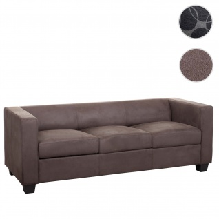 3er Sofa Couch Loungesofa Lille, Stoff/Textil