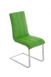 Esszimmerstuhl Freischwinger Stuhl C03, Kunstleder - Vorschau 1