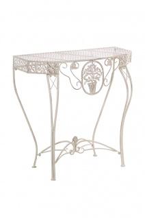 Blumentisch Navan, Gartentisch, Tisch, Metall