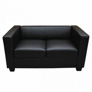 2er Sofa Couch Loungesofa Lille, Textilleder