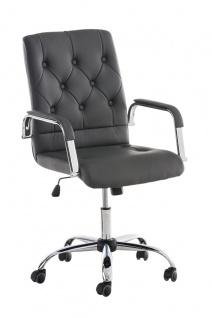 Bürostuhl CP602, Drehstuhl Chefsessel Bürosessel, Kunstleder