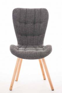 Esszimmerstuhl CP632, Stuhl Lehnstuhl, Textil