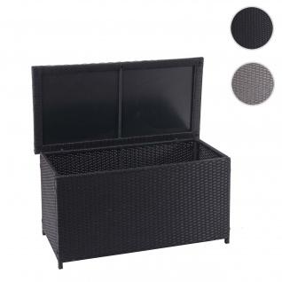 Poly-Rattan Kissenbox HWC-D88, Gartentruhe Auflagenbox Truhe - Vorschau 1
