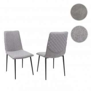 2x Esszimmerstuhl HWC-F47, Stuhl Küchenstuhl, Vintage