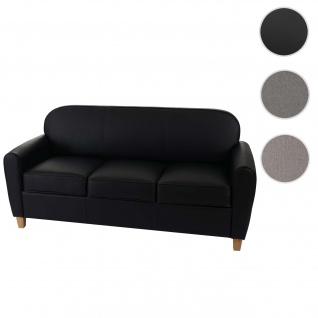 3er Sofa Malmö T377, Couch, Retro