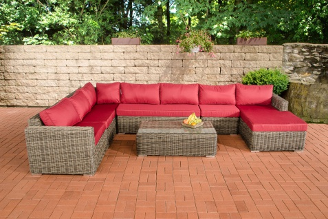 rattan lounge sofa g nstig online kaufen bei yatego. Black Bedroom Furniture Sets. Home Design Ideas