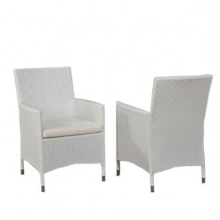 Stuhl, Gartenstuhl Julia, Polyrattan
