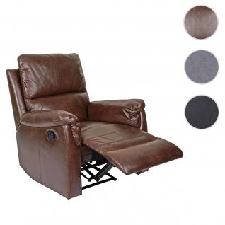 Fernsehsessel HWC-E67, Relaxsessel Liege Sessel