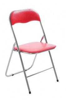 Klappstuhl CP598, Stuhl Campingstuhl Regiestuhl, gepolstert, 78x45x45cm