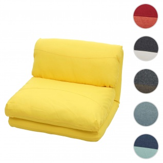 Schlafsessel HWC-E68, Schlafsofa Funktionssessel Klappsessel Relaxsessel, Stoff/Textil