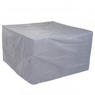 Abdeckplane Abdeckhaube Schutzplane Schutzhülle für Garnituren, grau